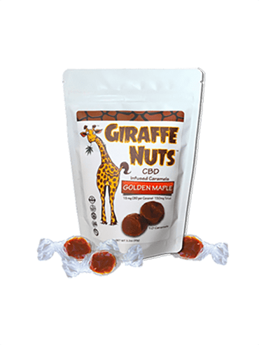 Giraffe Nuts Golden Maple
