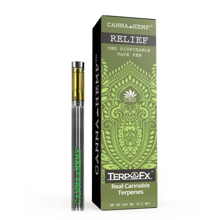 Canna Hemp Vape Pen - Relief
