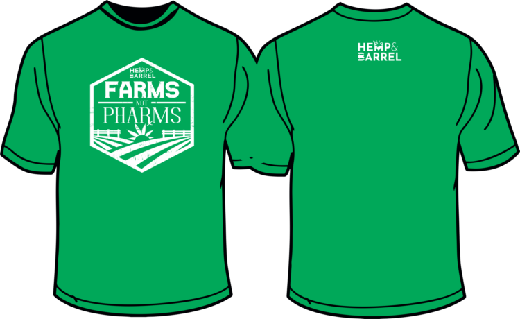 T-Shirt - Farms Not Pharms