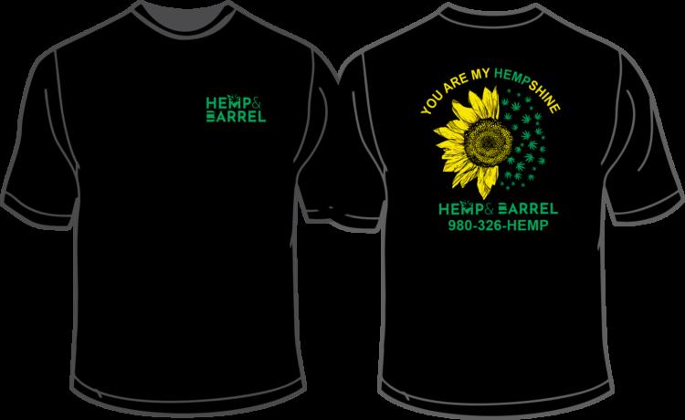 T-Shirt - Hemp Shine