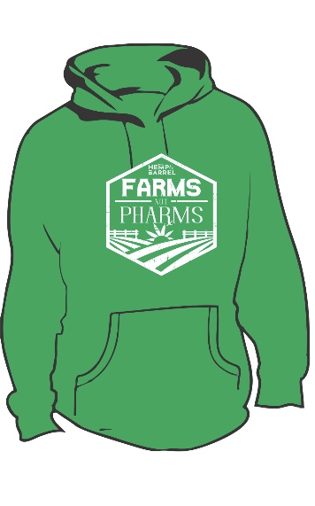 Hoddie - Farms Not Pharms