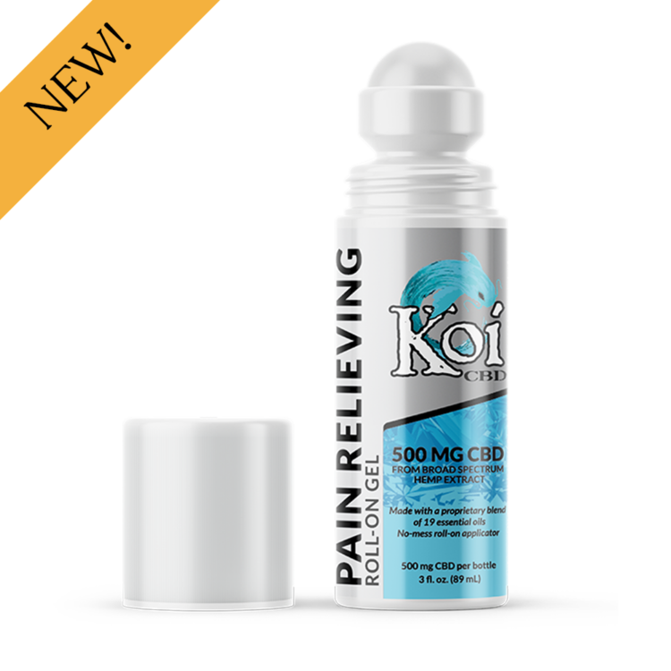 Koi CBD Pain Relieving Gel Roll-On 500 mg