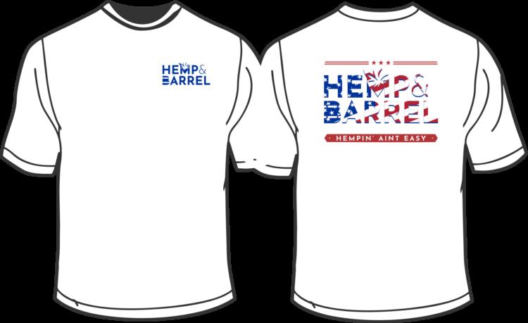 Hemp and Barrel Super Soft T-shirt