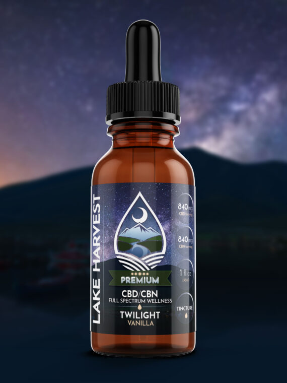 Lake Harvest CBD/CBN Sleep Formula