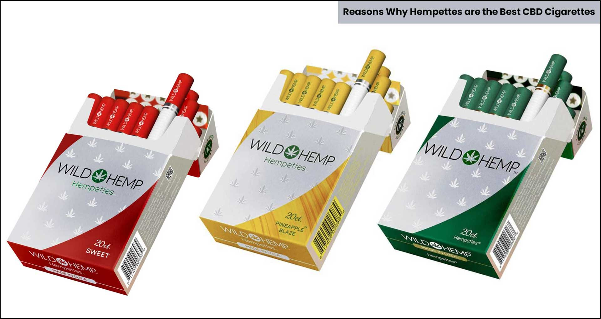 Reasons Why Hempettes are the Best CBD Cigarettes